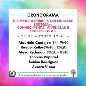 cronograma LGBT 30-08